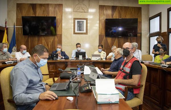 Torres agradece la visita del Rey este jueves y todas las muestras de apoyo a La Palma y pide a la población que extreme su seguridad por el volcán