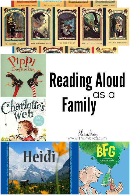 Reading Aloud as a Family
