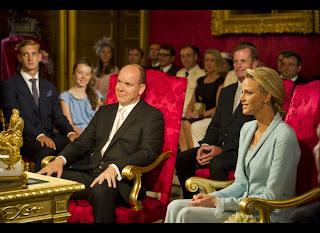 7 Charlene Wittstock & Príncipe Albert de Mônaco