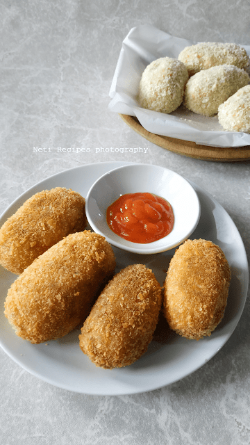 Kroket Kentang @NetiRecipes