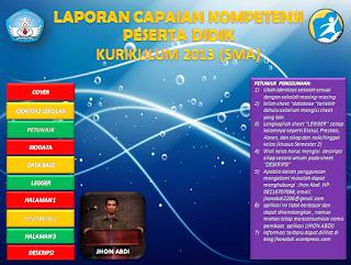 Aplikasi Penilaian Dan Raport Kurikulum 2013 Permendikbud No 53 Tahun 2015