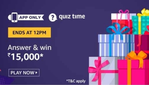 Amazon Quiz Answers 21 May 2020 Win Rs 15000 Today