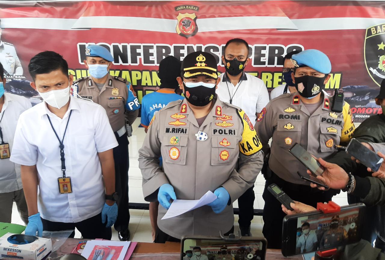 Polisi Cianjur Bekuk 1 Orang Tersangka Pembuat Bom Pipa Daya Ledak Tinggi