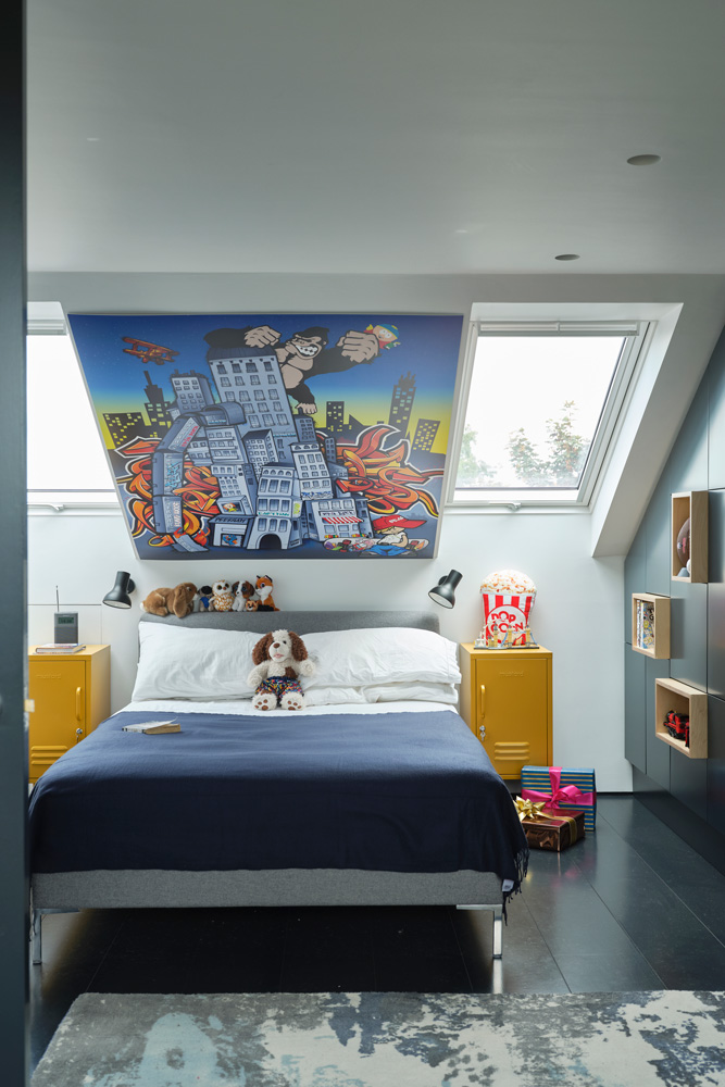 Fun Boy's Bedroom- design addict mom