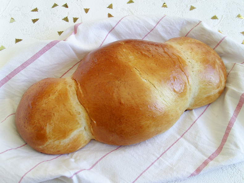French Christmas brioche recipe