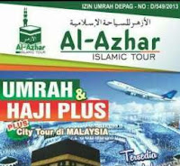 PT.Azhar Mitra Utama/Al Azhar Islamic Tour – Desain Grafis & Marketing (Penutupan 20-9-2016)