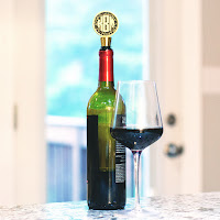 Monogrammed Wine Stopper from Marleylilly.com