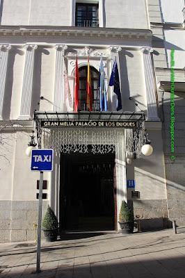 Entrance, Gran Melia Hotel Palacio de los Duques, Madrid, Spain