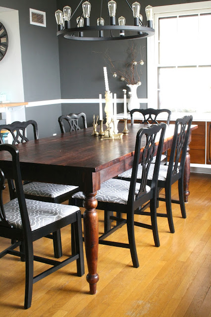 Swanky Black Chippendale Chairs Cassie Bustamante