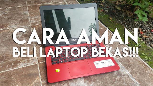 Cara ini tergolong aman dalam membantu dapatkan kualitas laptop bekas terbaik dan murah spek tinggi