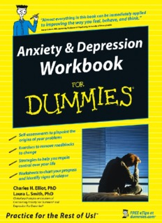 Anxiety & Depression Workboo By Matthew Kelly
