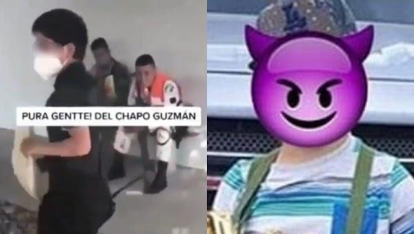 """""""Pura gente del Chapo Guzmán"""": Captan a 'niñ0 sicario' amenazando a militares (VIDEO)"""