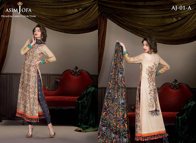 eid collection with innovative styles by Asim JOfa