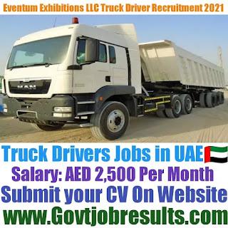 Eventum Exhibitions LLC Truck Driver Recruitment 2021-22