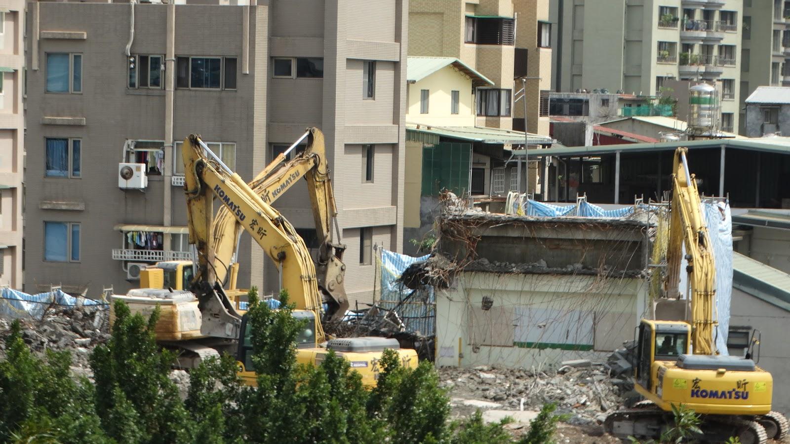 一鏡到底的關鍵因素?臺北市大龍市場拆除工程縮時攝影201507-201511 Construction Time Lapse
