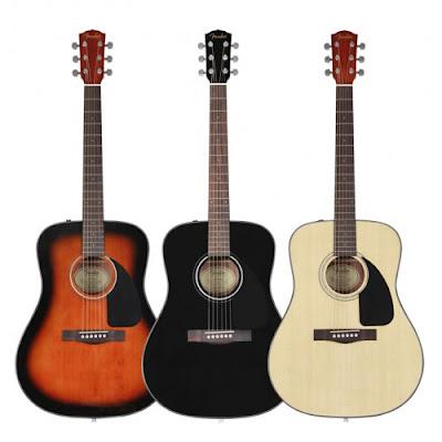 Tìm hiểu Guitar Fender Acoustic