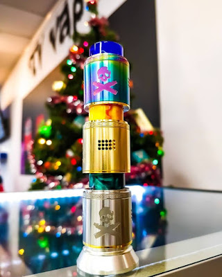 Vandy Vape Bonza RDA Preview -- Not Only A Visual Feast