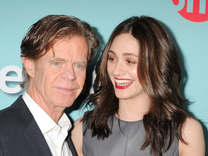 William H. Macy con Emmy Rossum