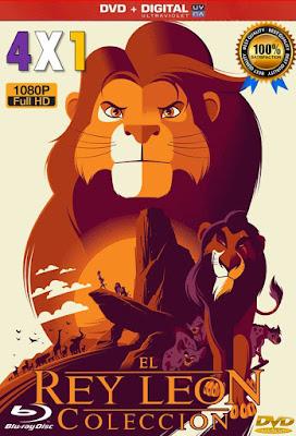The Lion King Colección 4X1 COMBO HD LATINO 5.1