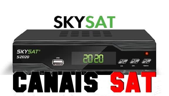 Skysat S2020 Nova Atualização V2.855 - 04/07/2019
