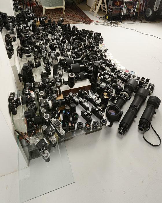 Así se ven 125,000 dólares en equipo fotográfico Nikon