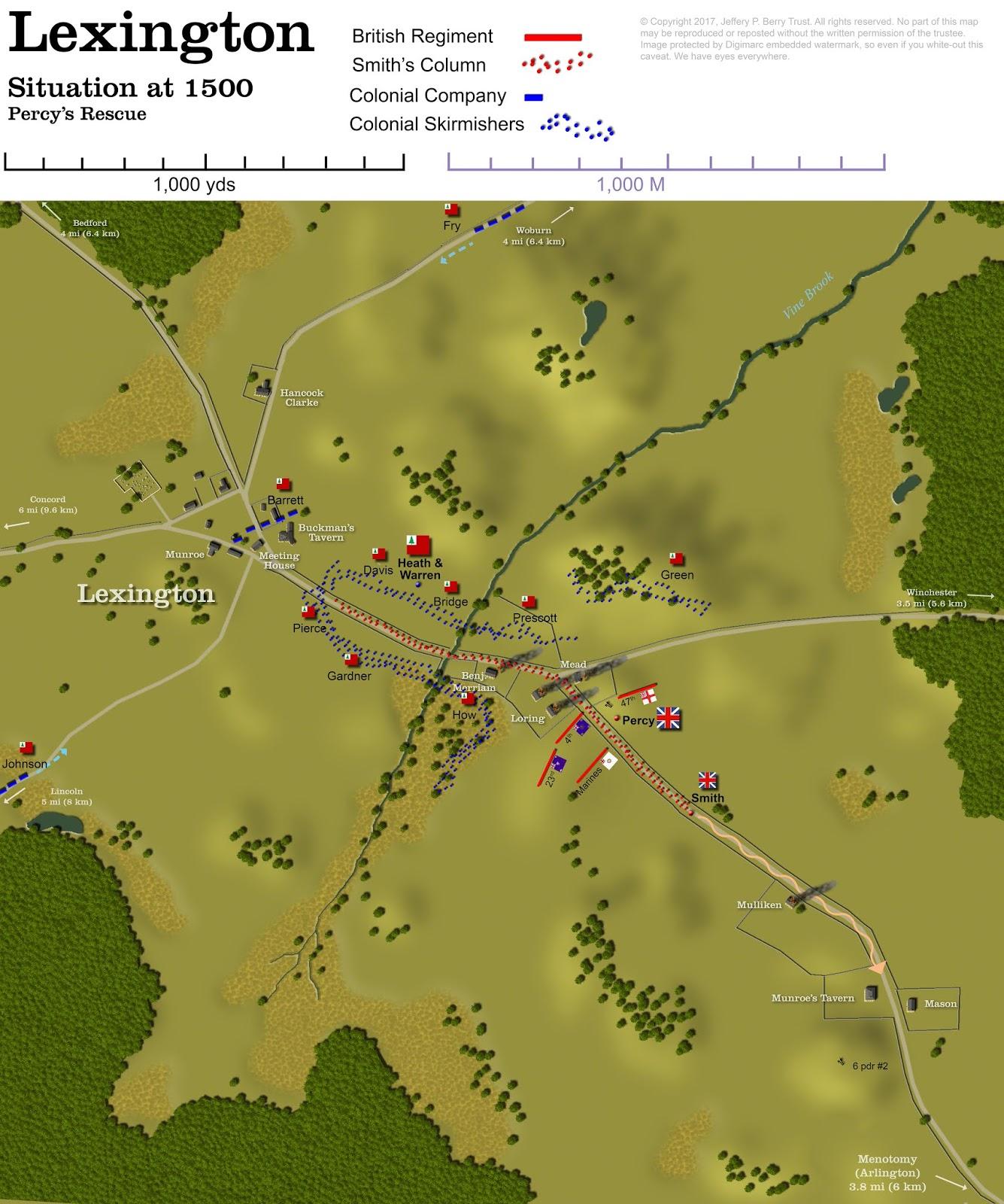 Obscure Battles: Lexington & Concord 1775
