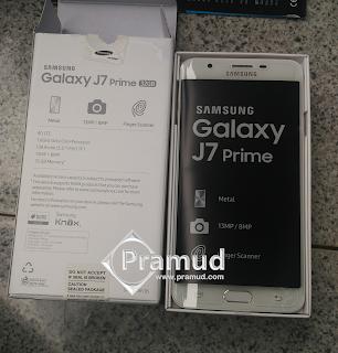 review dan unboxing samsung galaxy j7 prime indonesia - pramud blog