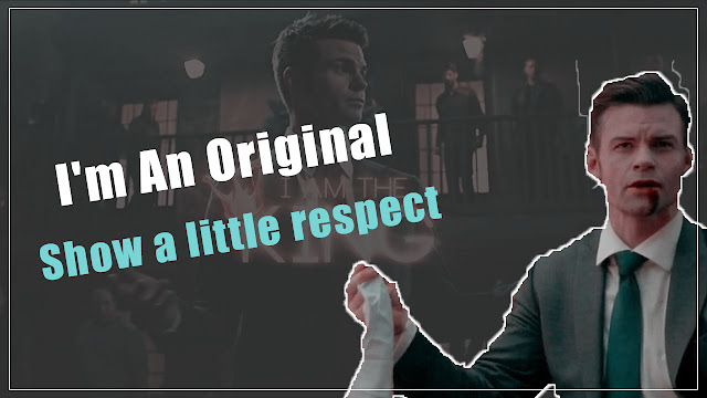 The Originals Elijah Mikaelson Amazing Qoutes