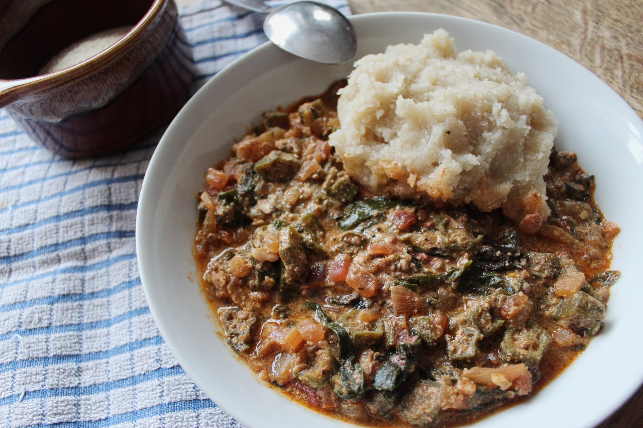 The Vegan Nigerian Vegan Cameroonian Okra Soup