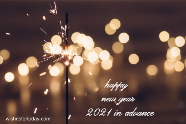 Happy new year 2021 in advance Images