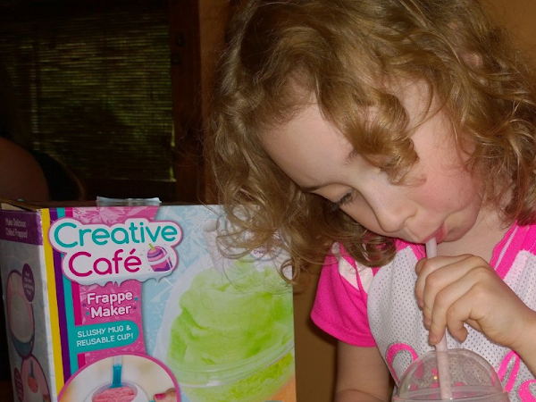 Creative Cafe Frappe Maker Makes Gourmet Drinks For Kids, Easy!