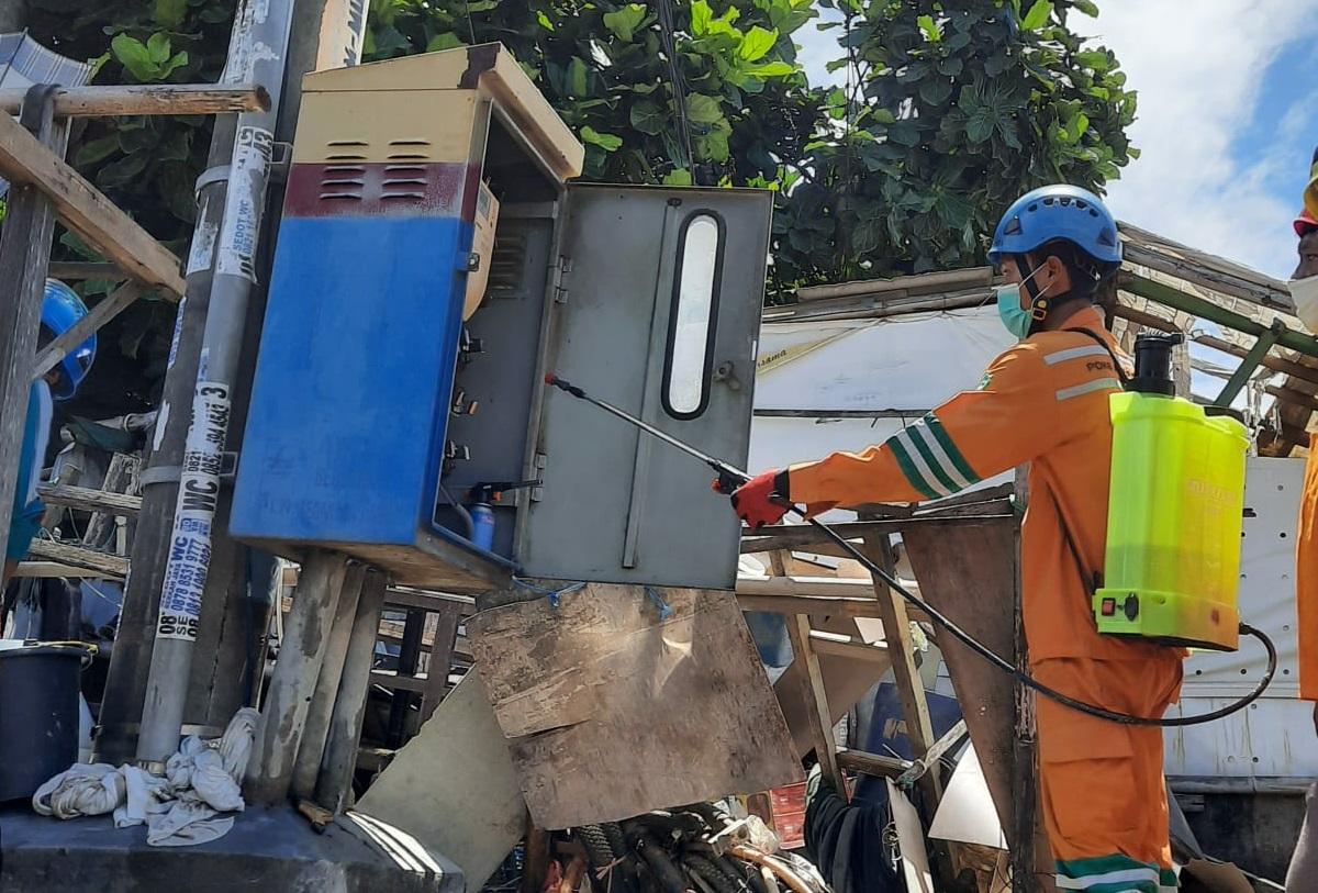 473 Gardu Terdampak Banjir di Jawa Barat Berhasil Dipulihkan PLN