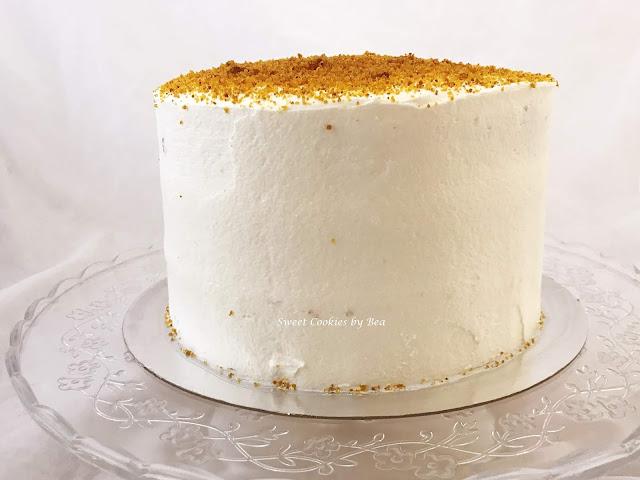 Tarta de calabaza y crema de marshmallow