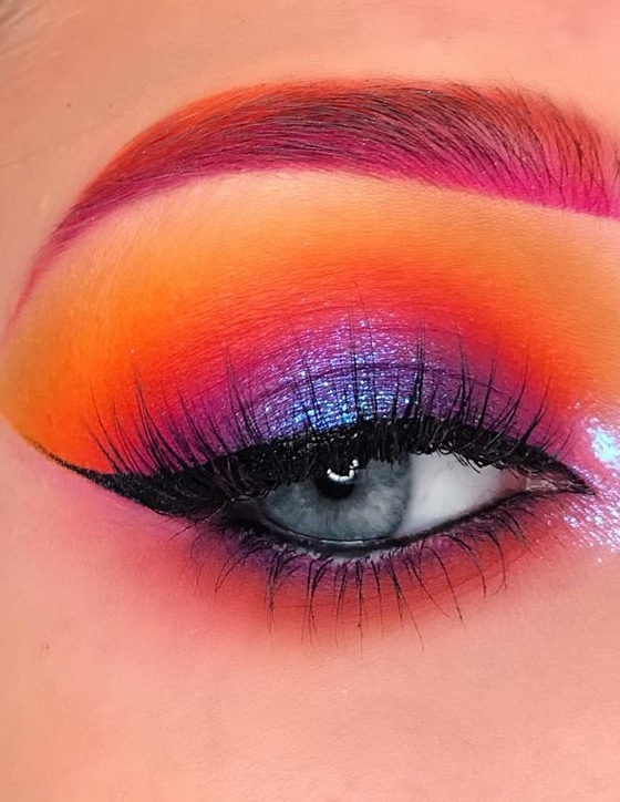 Eyeshadow Ideas - These Are The 10 Best Glamor Eyeshadow Ideas And Eyeshadow Basics Everyone Must Know! Part 7