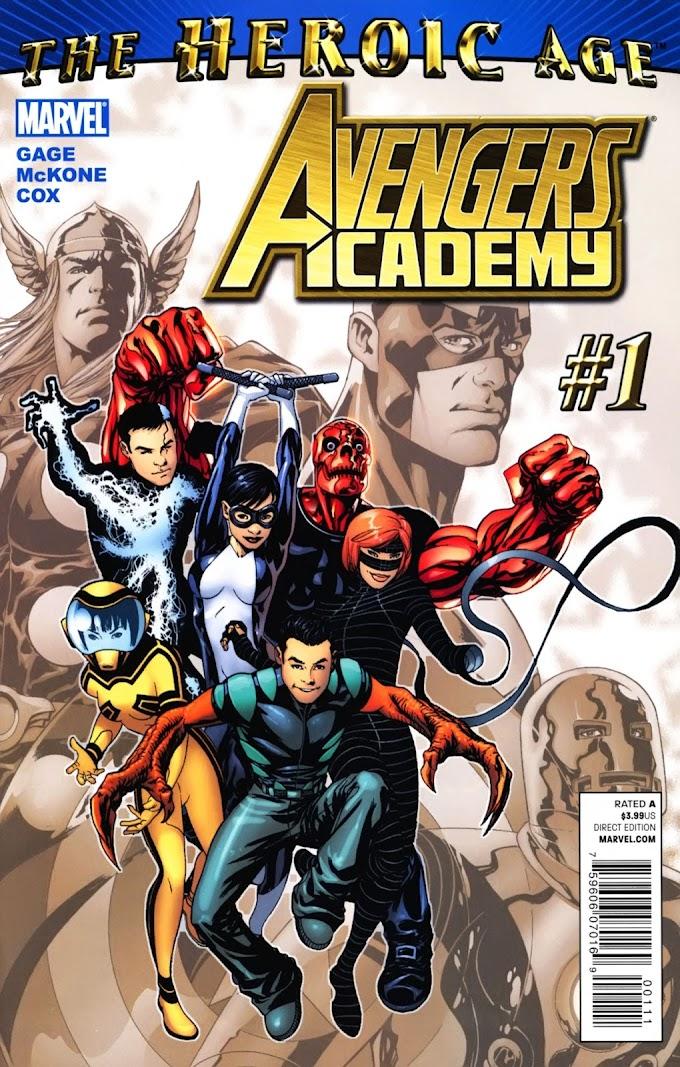 Avengers Academy Issue #1   Episode 1   Igor11 Online