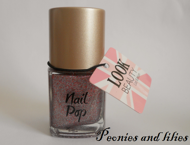Look beauty cool britannia nail pop, Look beauty, Look beauty olympic nail varnish, Look beauty patriotic nail polish, Look beauty cool britannia nail pop review, Look beauty cool britannia nail pop swatch, Peonies and lilies