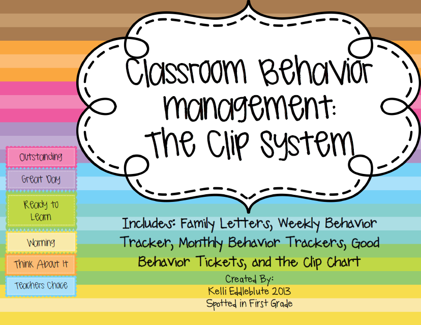 Classroom Design For Behavior Management ~ Spotted in first grade classroom behavior management the