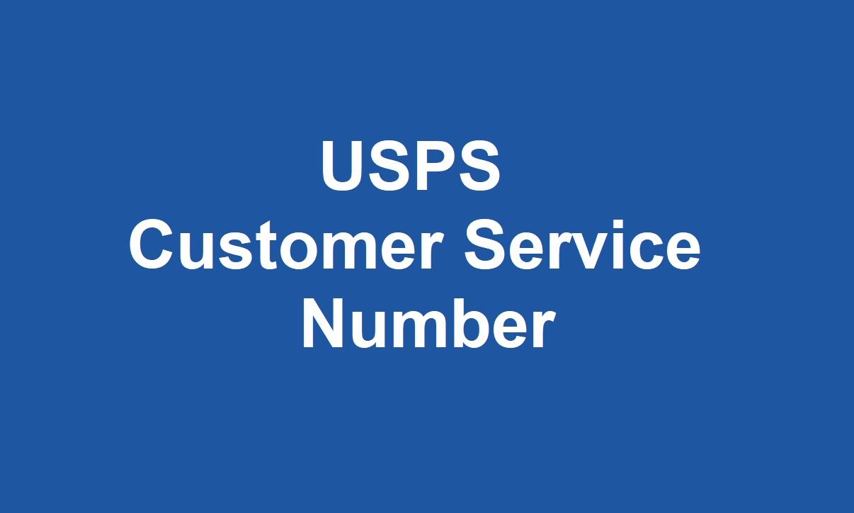 USPS Customer Service Number