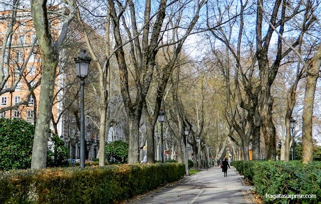 Paseo del Prado, Madri, Espanha