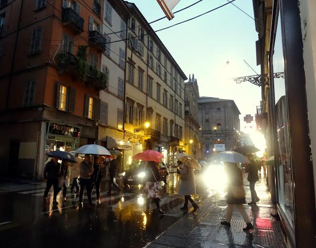 Street scene Parma, Italy