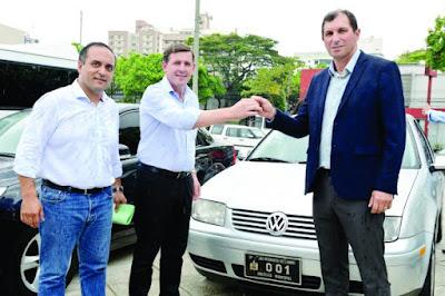 GCM de São Bernardo do Campo recebe carros oficiais da Prefeitura; outros 26 veículos alugados são devolvidos à locadora
