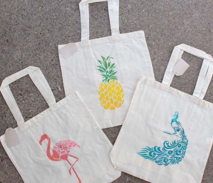 Hello Sunshine Heat Transfer Vinyl Recycled Cotton Tote Bag Book Bag Cotton Grocery Bag Reusable Shopping Bag Tote Bag Shopping Bag