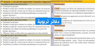 تخطيط فترة التقويم التشخيصي-فرنسية