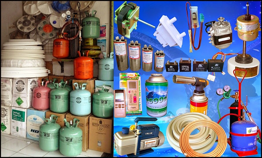 Toko Spare Parts AC - Kulkas Denpasar - Rajawali Refrigerator