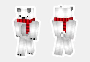 skin de oso polar minecraft