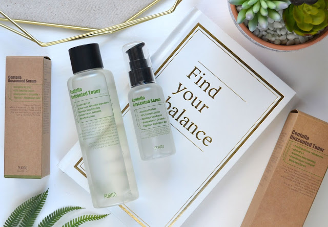 Purito Centella Unscented Toner and Serum