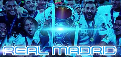 PES 2016 Real Madrid Champion UCL 2016 Start Screen