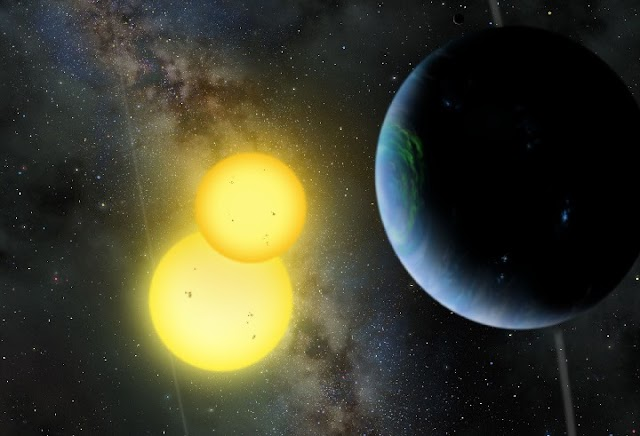 Discovery of Five Planets with a Double Sun that could Support Alien Life