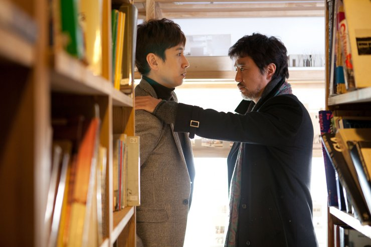 Doo Hyeon and Sung Ki planning how to seduce Jeong In