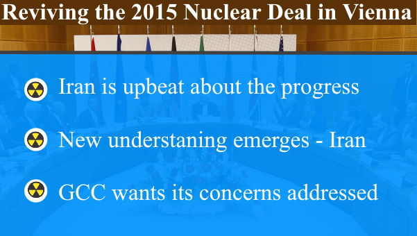 Iran 2015 nuclear deal - negotiations in Vienna